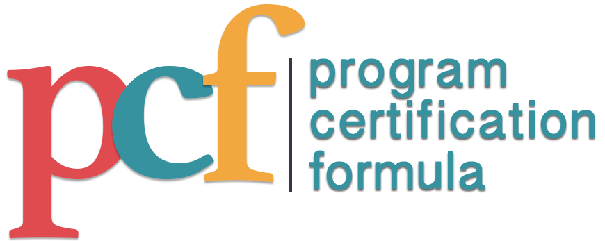 Program Certification Formula